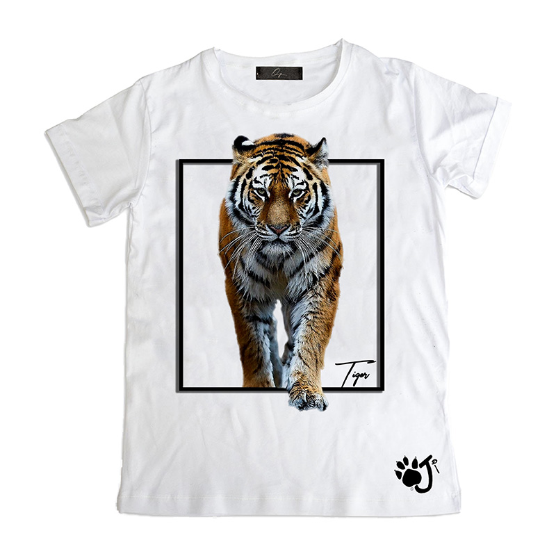 T Shirt Bambino So001 Tiger