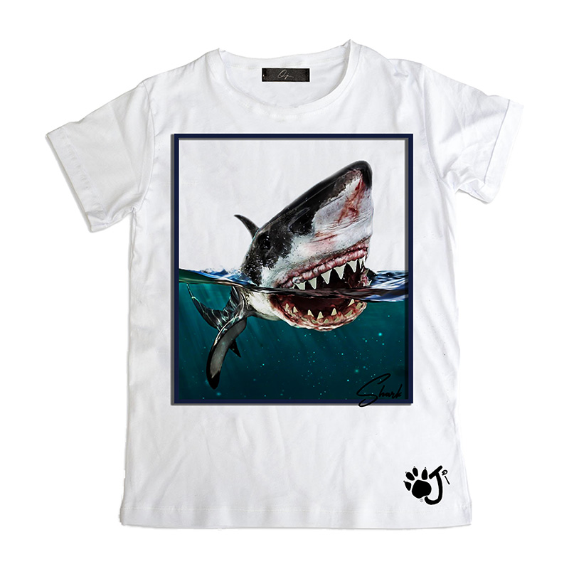 T Shirt Bambino So011 Shark