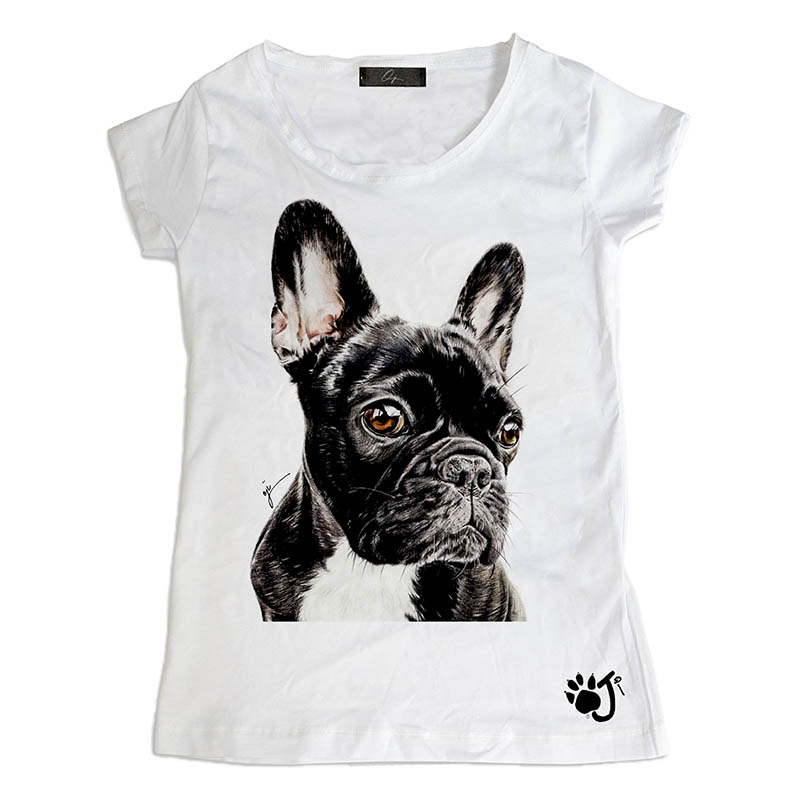 T-Shirt bambina Black Dog