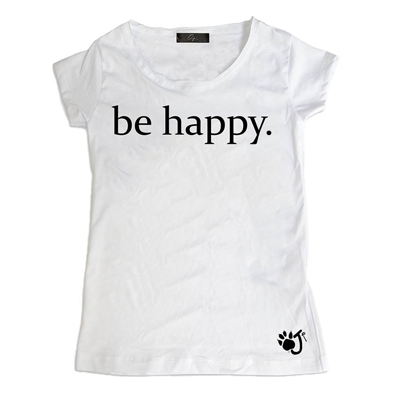 T Shirt Donna Hd024 Be Happy.