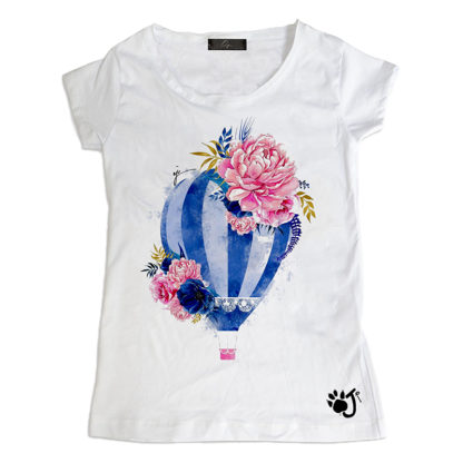 T Shirt Donna Hd053 To Fly